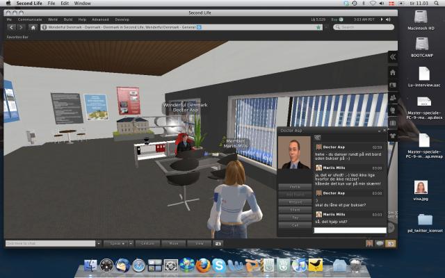 Google docs and EtherPad in SL Viewer 2 – Mariis' digitale refleksioner